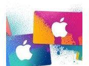 Carte cadeau iTunes mode d'emploi