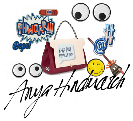 CARTOON YOUR BAG WITH ANYA HINDMARCH
