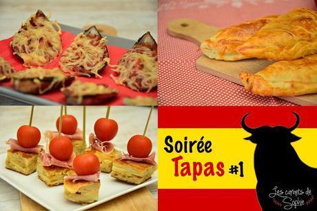 Moules gratinées – Tortilla – Empanadas {TAPAS#1}