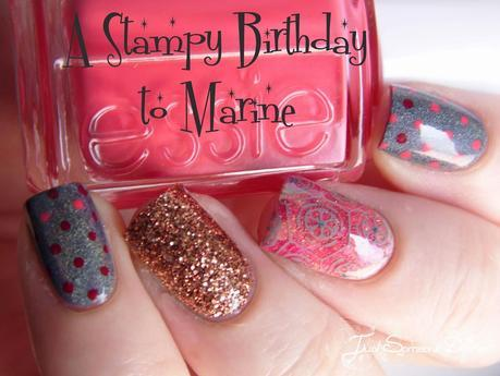 A stampy birthday to Marine!