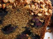 Coffee cake myrtilles (vegan)