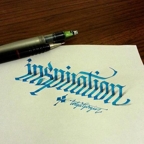 3D-Lettering-with-Parallelpen-Pencil13