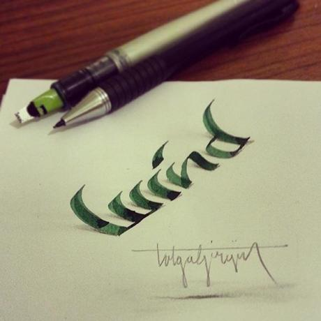 3D-Lettering-with-Parallelpen-Pencil6
