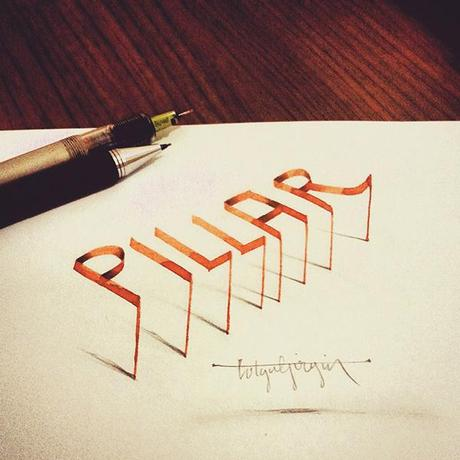 3D-Lettering-with-Parallelpen-Pencil12