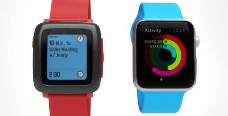 La Pebble Time ressemble davantage à l'Apple Watch que vous ne le croyez