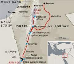 Le projet du canal de la mer morte tuera la cause de la Palestine