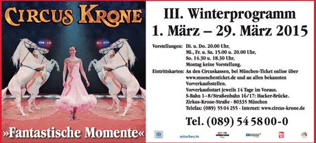 Florilège des élégances au Cirque Krone, qui présente son 3ème programme d´hiver