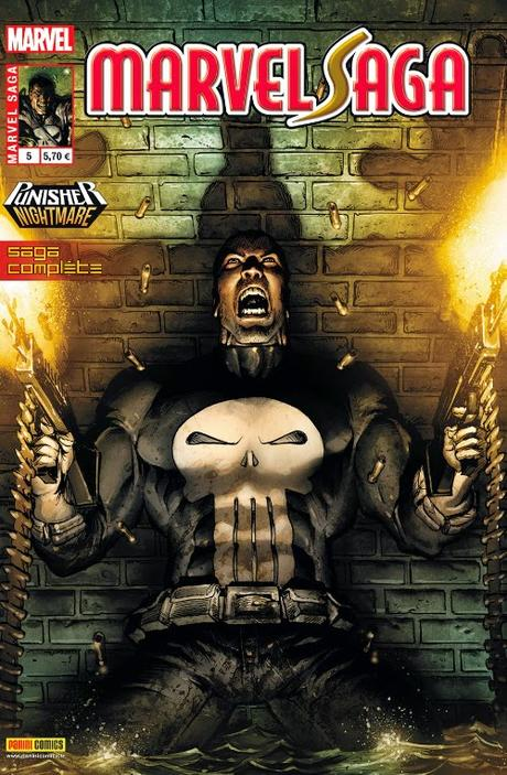 MARVEL SAGA 5 : THE PUNISHER NIGHTMARE