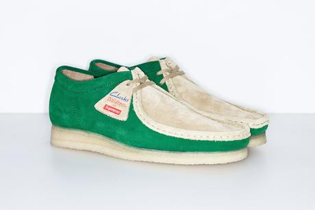 SUPREME X CLARKS – S/S 2015 – WALLABEE LOW