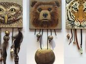 animaux peints