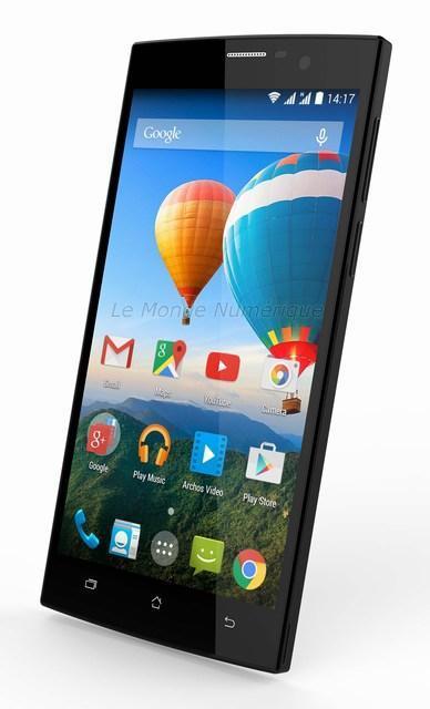 MWC 2015 : Smartphones Archos 52 Platinum, 59 Xenon et 62 Xenon à fond sur les grands écrans