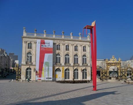 Place Stanislas, Nancy, 2012 - Réplique de la Chaise Métropole