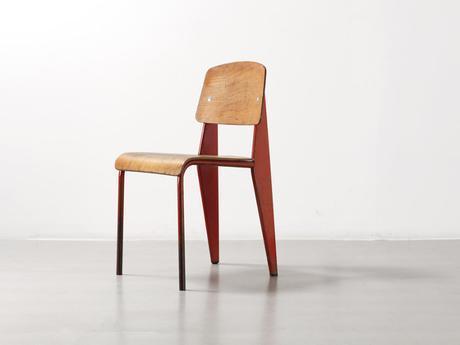 Histoire de Design : Chaise Métropole n°305 par Jean Prouvé 1934