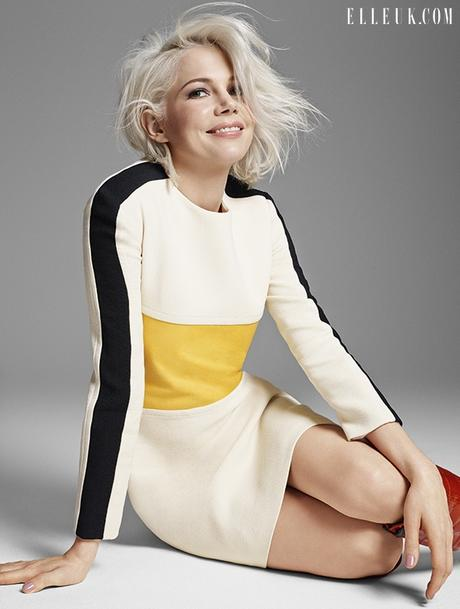 Michelle Williams pour Elle UK