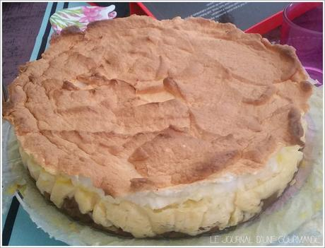 Key lime pie...et grand retour du Journal d'une Gourmande !