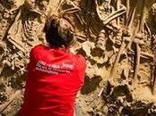 squelettes découvertes dans fosses communes Paris