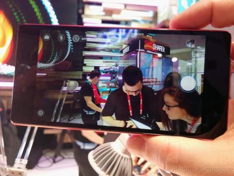 MWC 2015 : Smartphone Lenovo Vibe Shot, pensé pour la photo