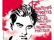 Printemps poètes apéro littéraire médiathèque d'Oyonnax (Ain)