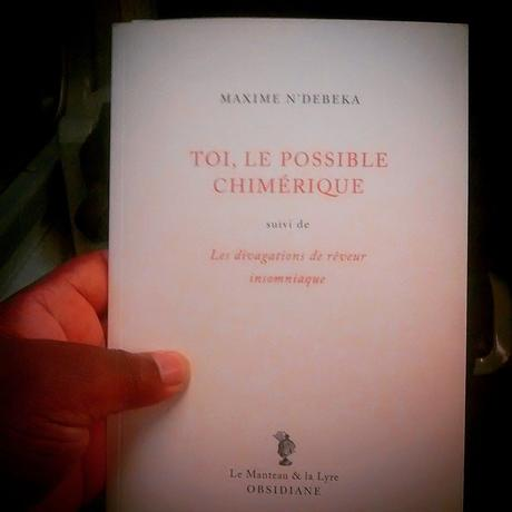 Maxime N'Débéka : Toi, le possible chimérique