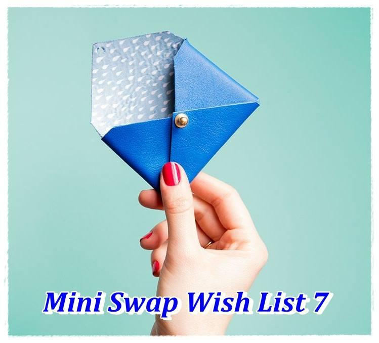 Mini SWap Wishlist n°7 ... Reçu