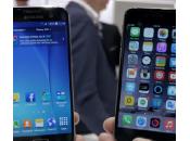 iPhone Galaxy vidéo comparative