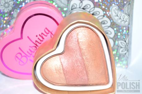 #Blushinghearts Peachy Keen Heart de Makeup Revolution