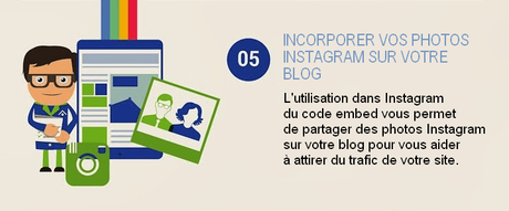 incorporer vos photos instagram