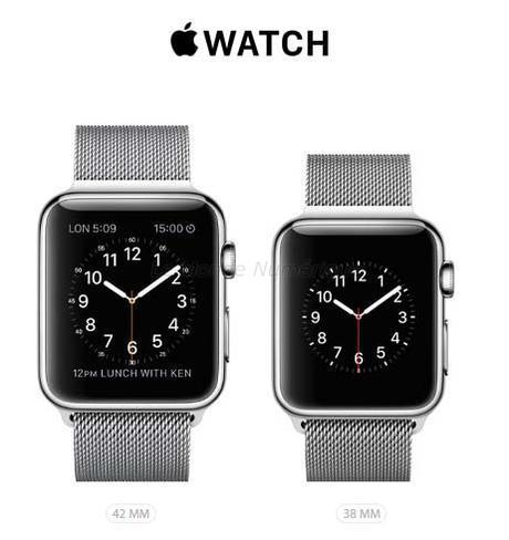 Montre connectée Apple Watch, enfin des prix et une date de sortie, précommandes dès aujourd'hui