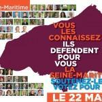 Carte candidats