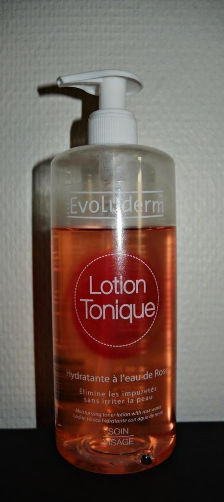 Lotion tonique hydratant à l'eau de rose by Evoluderm !