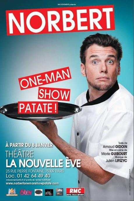 J'ai testé le spectacle de Norbert One-man show patate