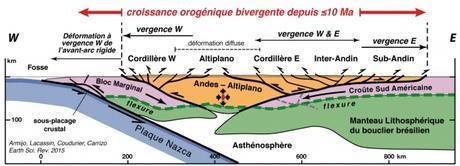 La genèse des Andes, une histoire de poule et d'oeuf entre tectonique et climat?