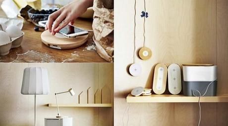MWC 2015 : Ikea va bientôt proposer des meubles avec chargeur à induction Qi