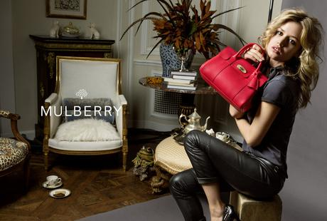 Georgia May Jagger égérie des sacs Mulberry !