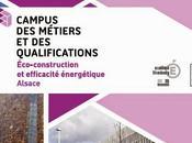 Focus Campus Métiers Qualifications éco-construction efficacité énergétique Alsace