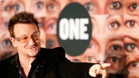 L'association de Bono soutient la lutte contre le gaspillage alimentaire en France (Le Figaro)