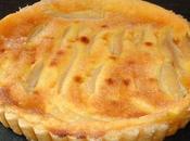 Tarte normande poire (avec pâte feuilletée rapide)