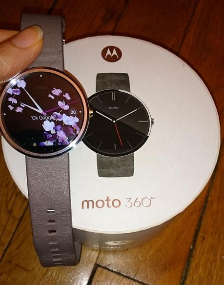 #Test de la montre connectée #Moto360
