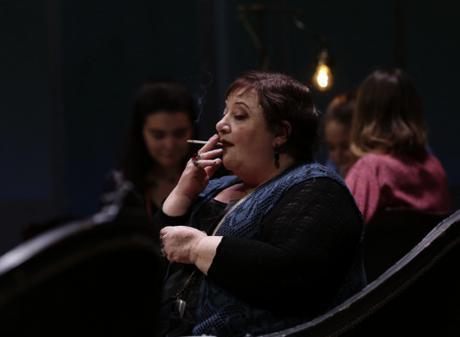 Chantal Neuwirth, photo de répétition : Ivanov © Thierry Depagne