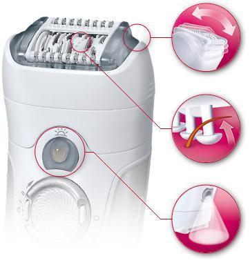 Épilateur électrique Braun Silk-epil 7 7681 Wet & Dry