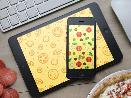Wallpaper: Faire de votre iPhone... Une pizza !