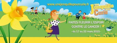 Une jonquille pour Curie – Semaine solidarité contre le cancer #TruffautCurie