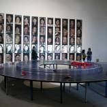 La table de Ping Pong circulaire.