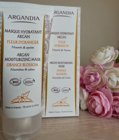 Masque Hydratant Argan à la Fleur d'Oranger - Argandia