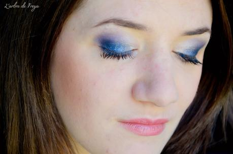 All Night Blue Makeup