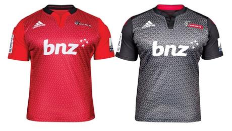 Crusaders Super Rugby Jersey