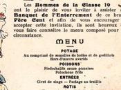 1911- Enterrement Père Cent, banquet loufoque