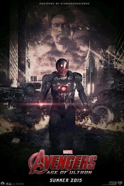 AVENGERS AGE OF ULTRON : FAN MADE POSTERS