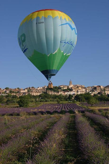Alpes de Haute Provence en Montgolfière