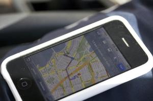 iPhone comme GPS auto